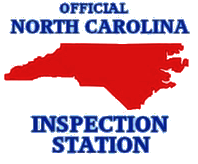 We Are an Official North Carolina Inspection Station