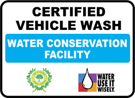 certified vehicle wash facility