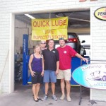 Hap & Heidi Merritt Owners Northridge Auto Spa with Ron and Bobby Lizard Lick