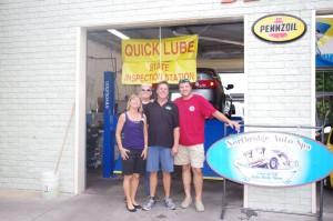 Hap & Heidi Merritt Owners Northridge Auto Spa with Ron and Bobby Lizard Lick