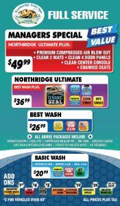 Northridge Auto Spa Full Service Menu web1